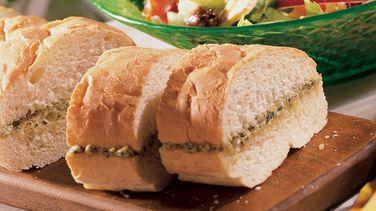 Pesto French Bread