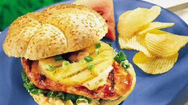 Grilled Teriyaki Chicken Sandwiches