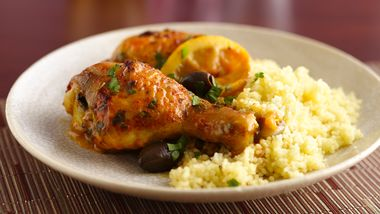 Moroccan Chicken with Olives