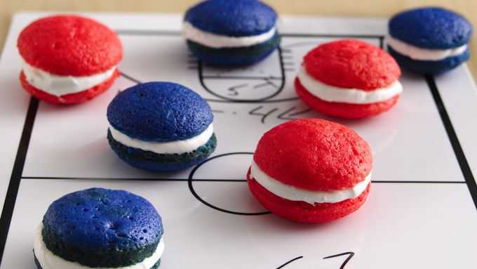 Team Color Cupcake Poppers recipe - from Tablespoon!