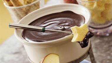 Dark Chocolate Raspberry Fondue