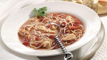 Chicken Soup Provençal (Cooking for 2)