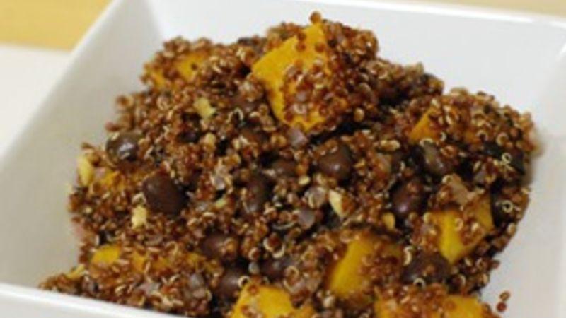 Quinoa Black Bean and Squash Salad