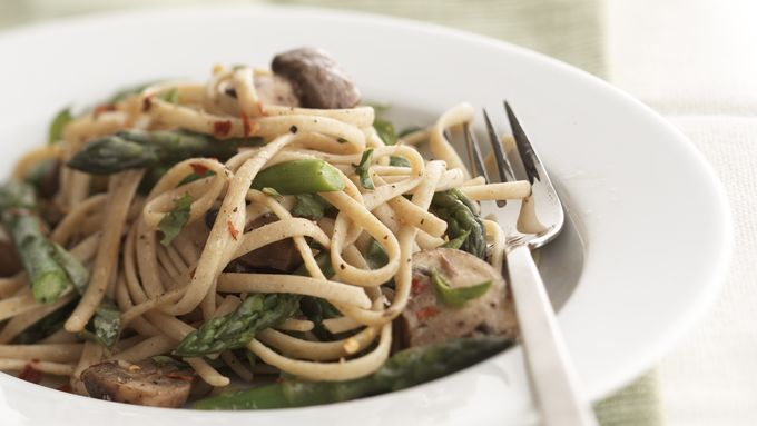 Skinny Asparagus Linguine