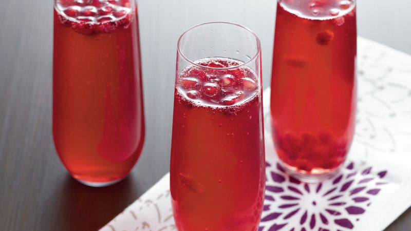 Pomegranate Sparklers recipe from Betty Crocker