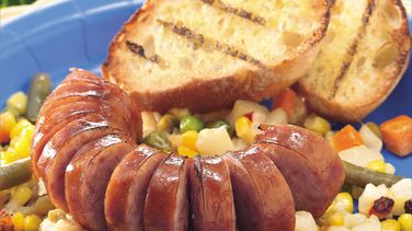Grilled Sausage Packets