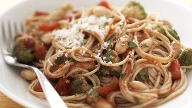 Skinny Winter Veggie Pasta