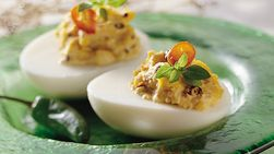 Chipotle Deviled Eggs