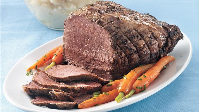 Slow-Cooker Herbed Beef Roast