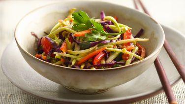 Ensalada tailandesa de brócoli
