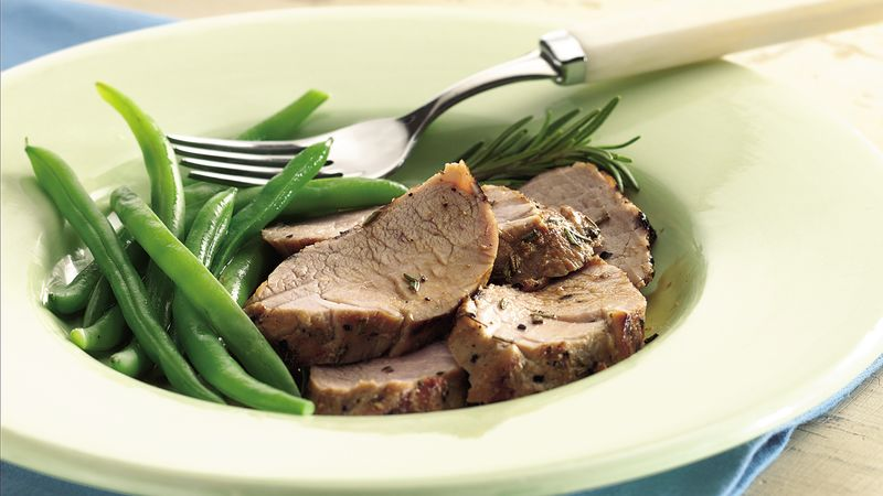 Grilled Brined Pork Tenderloin
