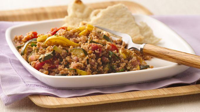 Ratatouille Tabbouleh Salad