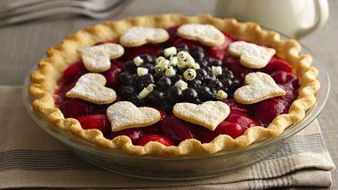 Berry Lover's Delight Pie