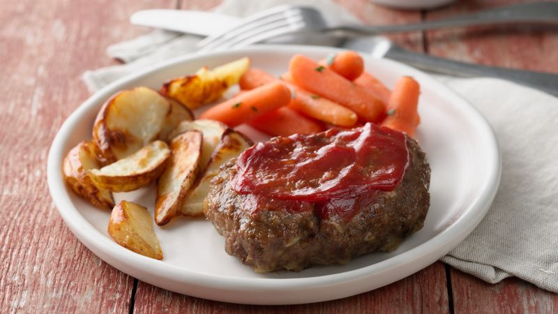 Grilled Meatloaf Dinner Foil Packs