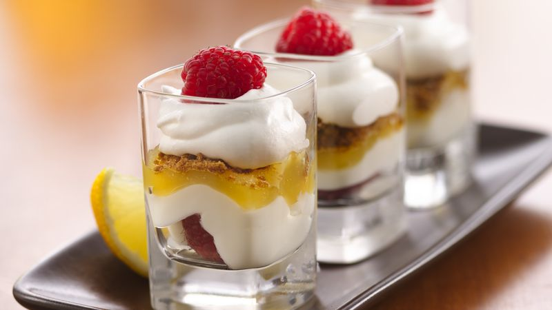 Lemon Dessert Shots