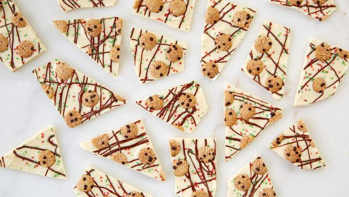 Cookies for Santa Bark