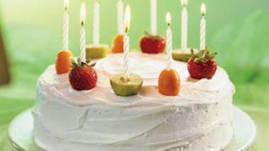 Fruity Celebration Cake