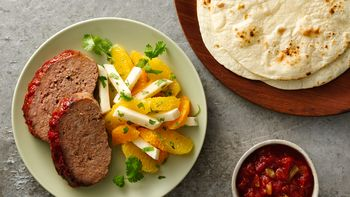 Spicy Salsa Meatloaf