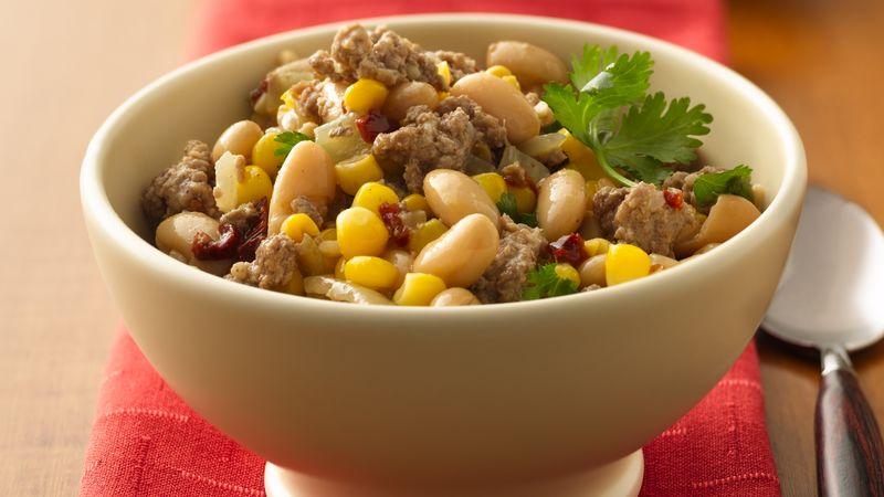 Chipotle Turkey Chili recipe from Betty Crocker