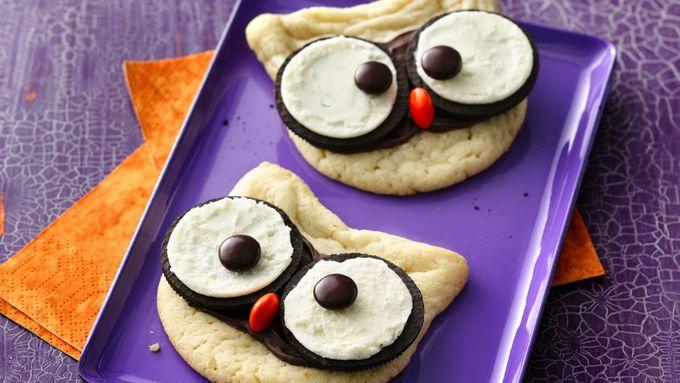 Cute Owl Cookies