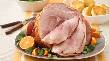 Baked Ham with Brown Sugar-Orange Glaze