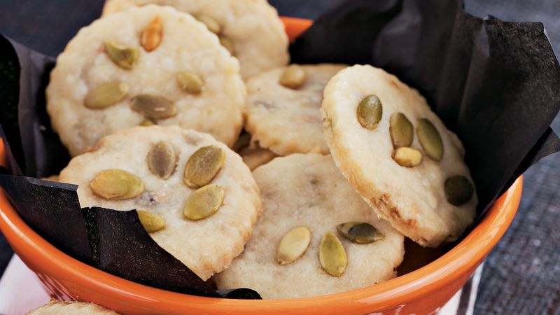 Pumpkin Seed Shortbread