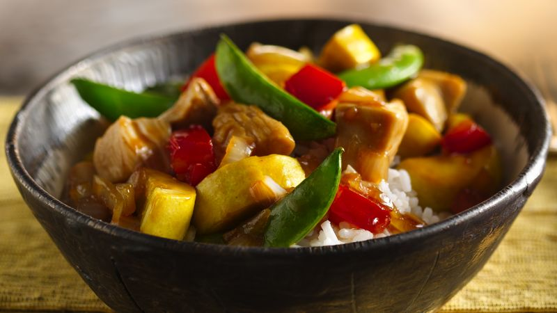 Summer Chicken Stir-Fry