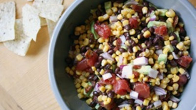Avocado, Black Bean and Corn Salad