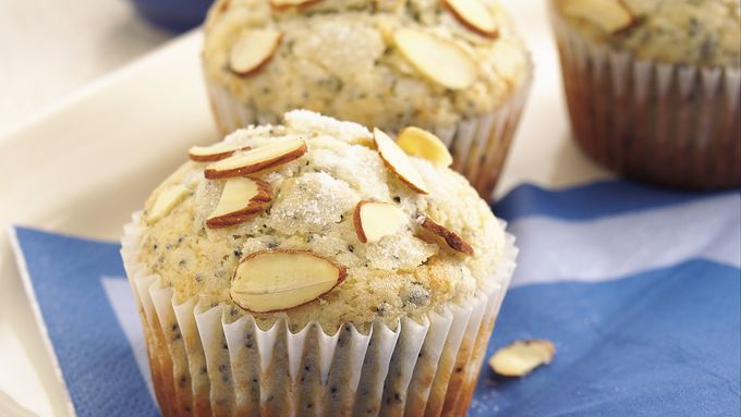 Almond-Poppy Seed Muffins