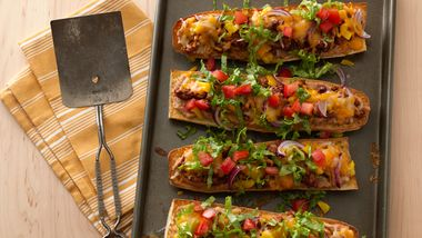 French Bread Taco Pizza