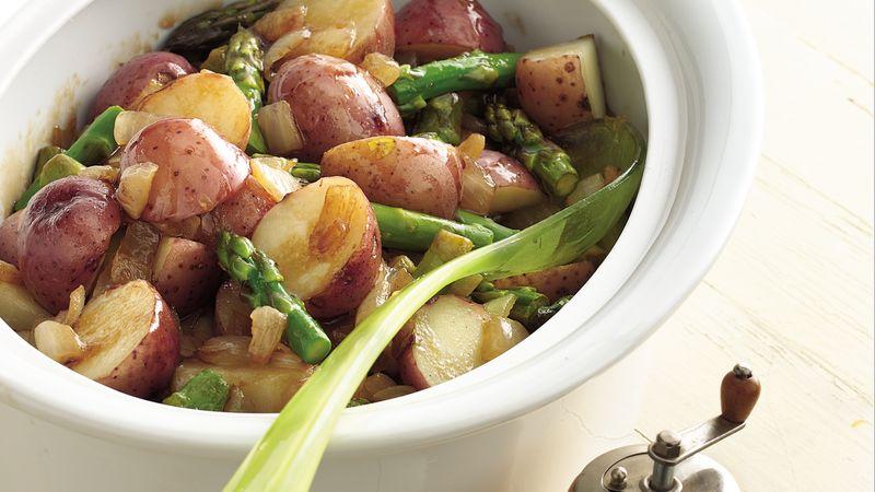 Warm Caramelized Vegetables