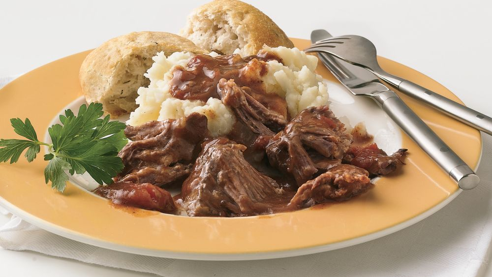Slow-Cooker Short Ribs in Red Wine