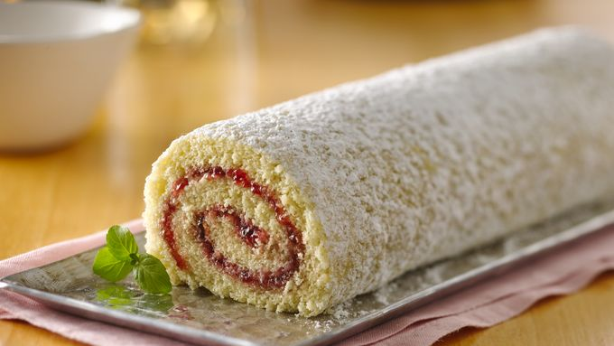 Jelly Roll Recipe Using Cake Flour: Jelly Roll Cake Recipe