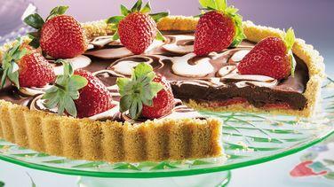Strawberry S'more Tart