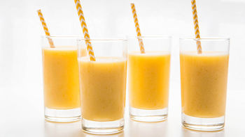 Peach Mimosa Smoothie