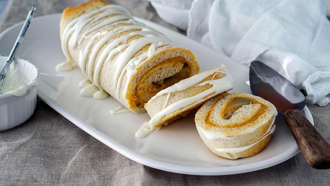 Apple and Pumpkin Pie Roll-Up