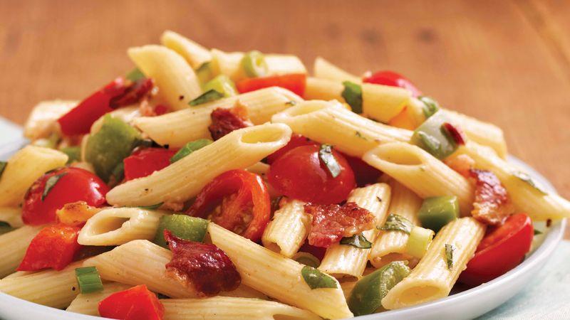 Bacon and Basil Pasta Salad