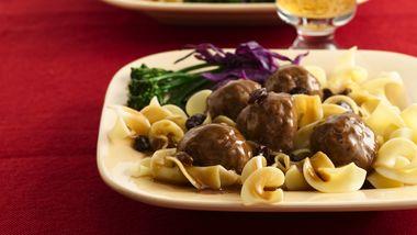 Sauerbraten Meatballs
