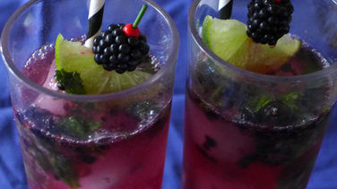 Blackberry Witch Mojito