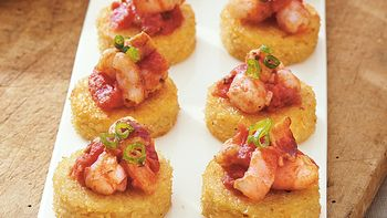 Shrimp and Grits Bites