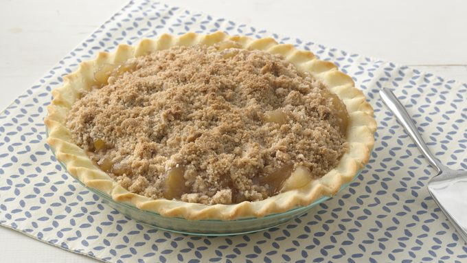 Extra Easy Gluten-Free Streusel Apple Pie