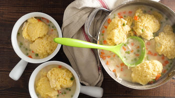 Chicken and Cornbread Dumplings