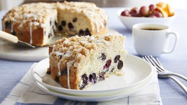 Blueberry Best Coffee Cake