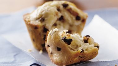 Surprise Chocolate Chip Muffins