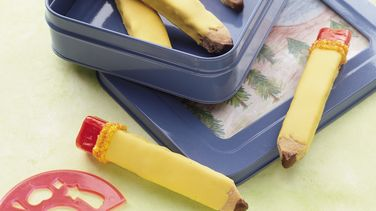 School Days Pencil Cookies
