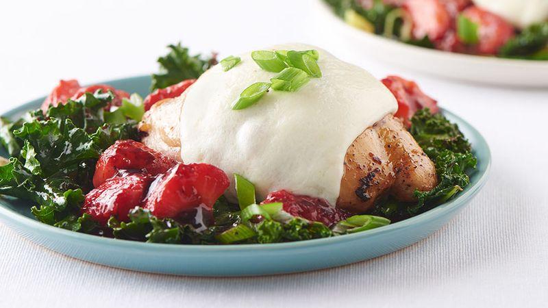 Strawberry Balsamic Chicken Thighs