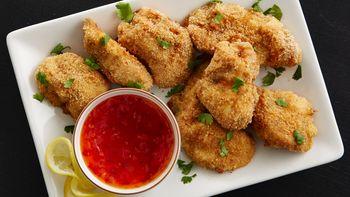 Baked Thai Chicken Nuggets