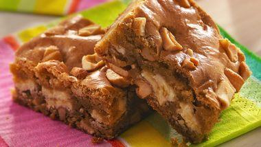 White Chocolate-Cashew Butterscotch Blondies