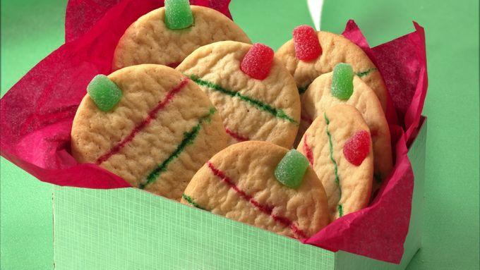 Easy Gumdrop Sugar Cookie Ornaments