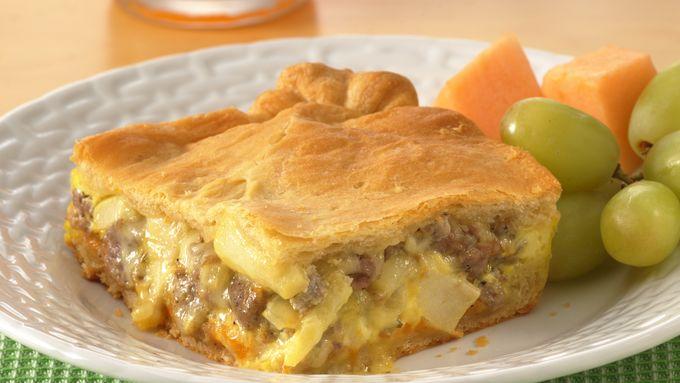 Sausage and Apple Bake
